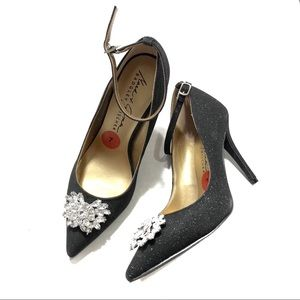 Badgley Mischka Shimmer Heels